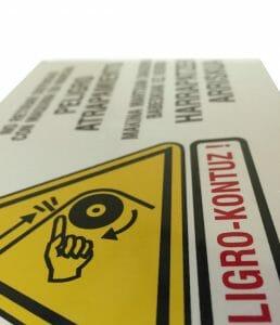 placas de seguridad